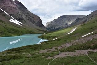 Cracker Lake, East Glacier Park.