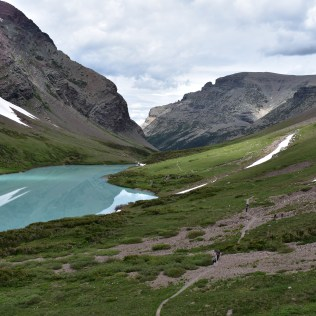 Cracker Lake, East Glacier Park.